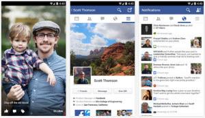 Обновление Facebook для Андроид: «Подождите минутку…»