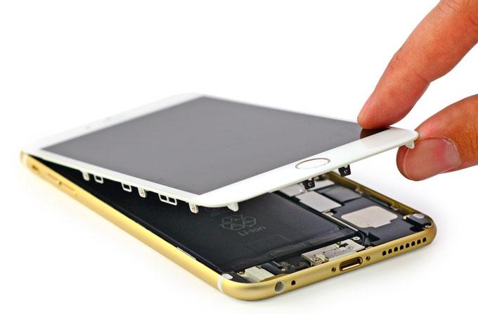 неисправность в iPhone 6 Plus