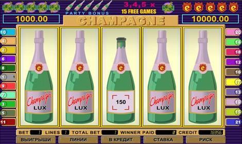 Как обыграть игровой слот Шампанское?