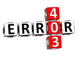 Как исправить ошибку 403?