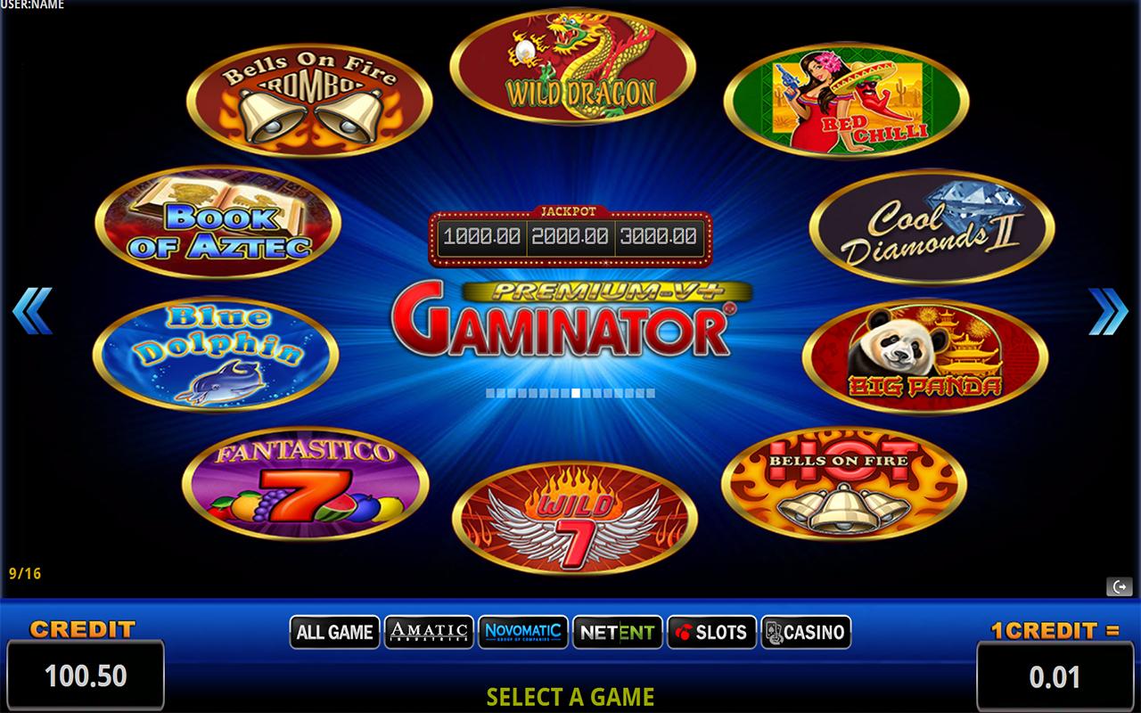 Что представляет собой Gaminator Slots Casino?